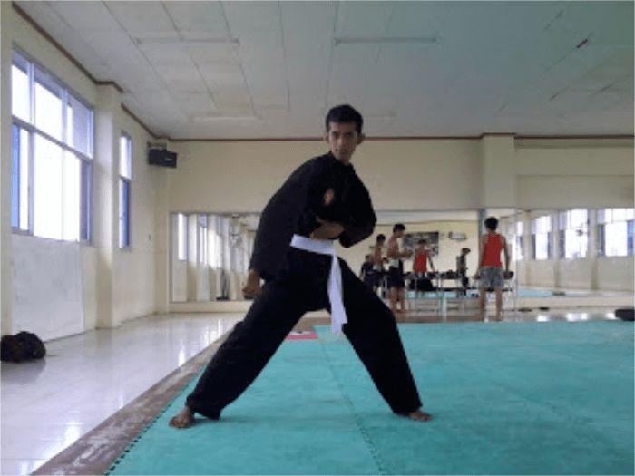 teknik dasar pencak silat tangkisan bawah