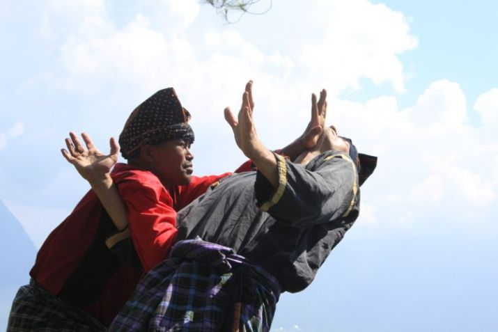 teknik pencak silat harimau menggunakan tangan