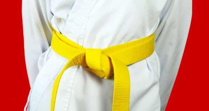 tingkatan sabuk karate kuning