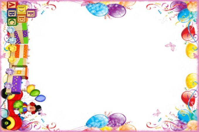 background aqiqah border balon