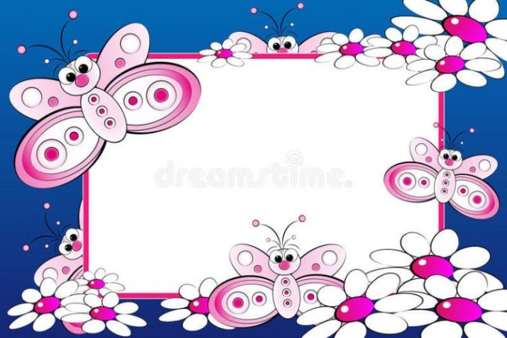background aqiqah kupu-kupu |