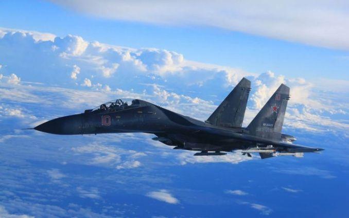 pesawat tempur Sukhoi Su-27