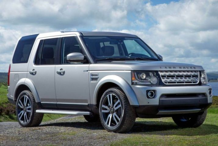 Mobil Offroad Land Rover LR4 2016
