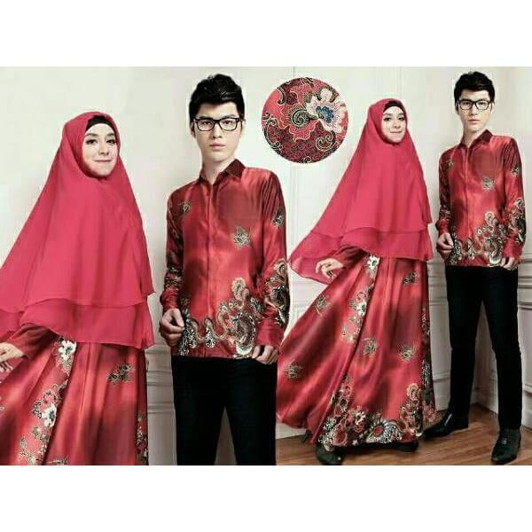 Model-Gamis-Batik-Sarimbit-Syari