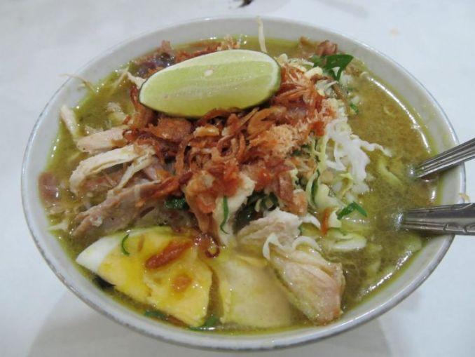 Kuliner Malang Soto Geprak Mbah Djo
