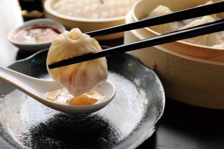 makanan enak dim sum - china