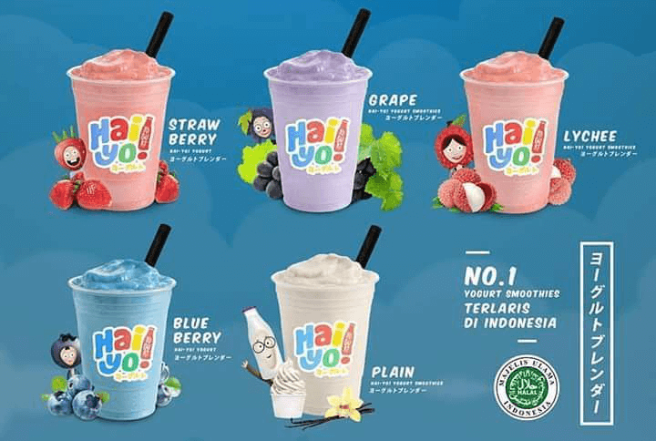 franchise minuman Hai Yo! Yogurt Blend