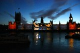 Houses of Parliament lights up (3)