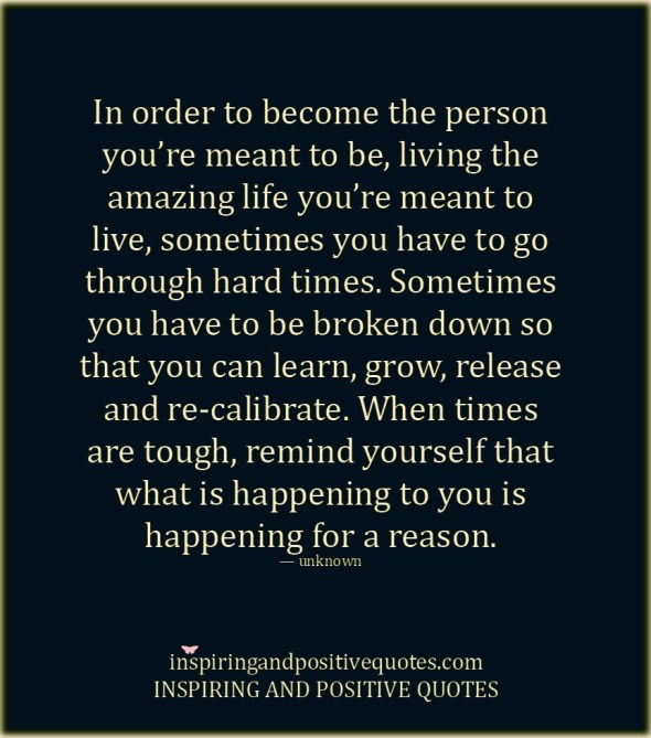 Everything Happens For A Reason Inspiring And Positive Quotes