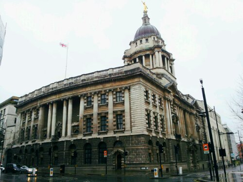 The Old Bailey sits on the former location of the Newgate