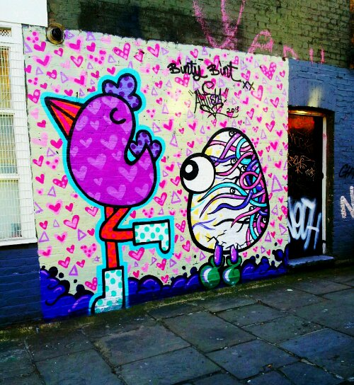 Collaboration with Binty Bint in Shoreditch on Club Row