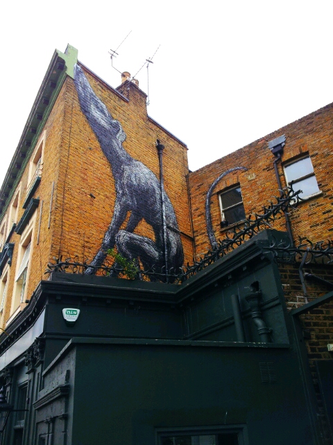 dog roa dulwich outdoor gallery