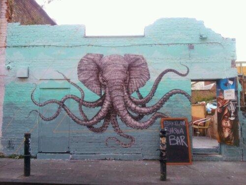 The final piece on Hanbury Street in London
