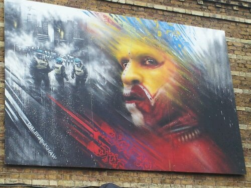 Dale Grimshaw added this incredible piece to the show