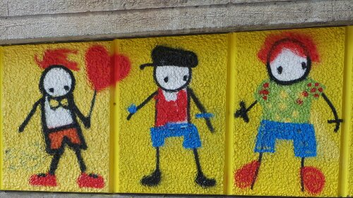 Colourful Stik's