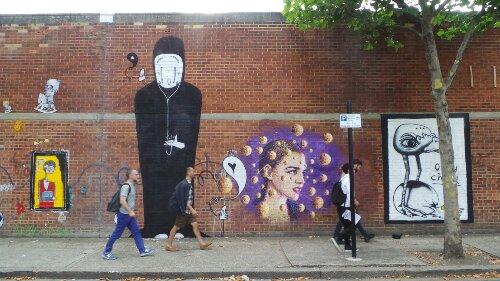 Alo, Senna, Jimmy C and Edwin on Bream Street