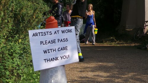 Watch out for the Artists, pass with care