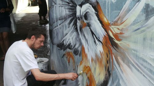 Zadok creates some beautifully intricate pieces of work
