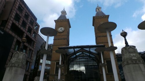 Liverpool Street station where our tour starts and ends