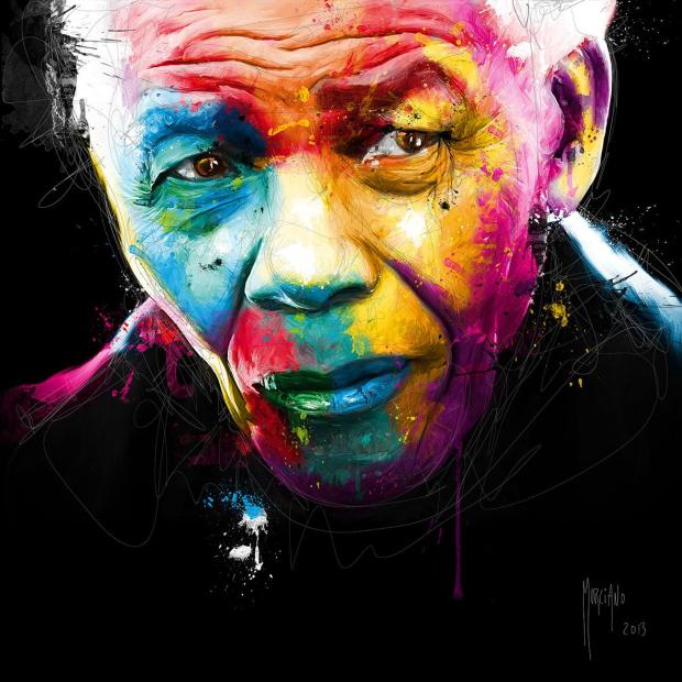 Another French based artist, the incredible Patrice Murciano created this stunning portrait.