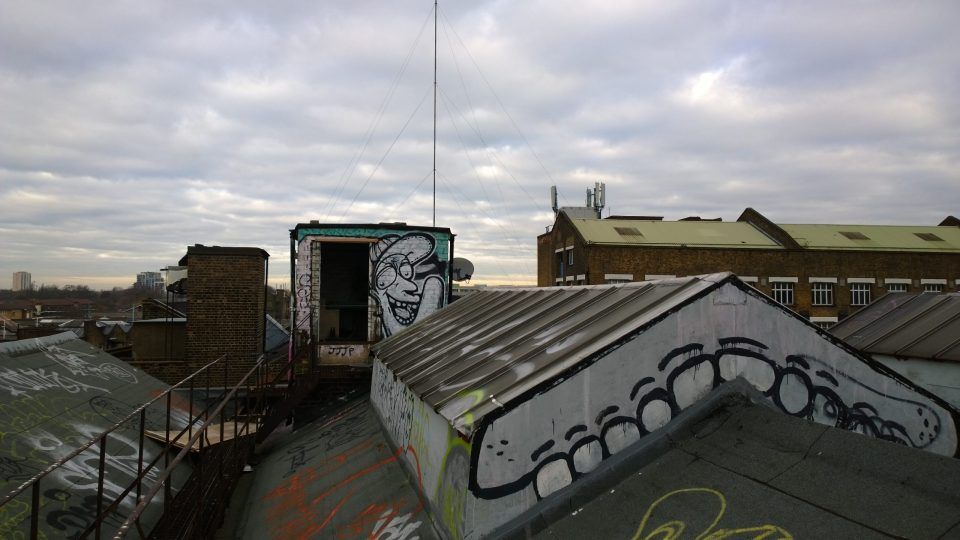 White teeth on other rooftops