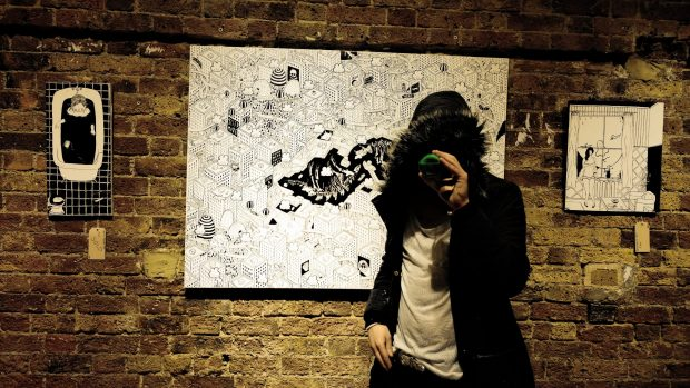 The show at the Hoxton Gallery lasts until the end of December