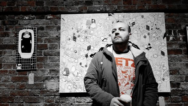 Millo has travelled Europe with his art