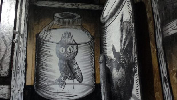 Tribute to street artist Dscreet
