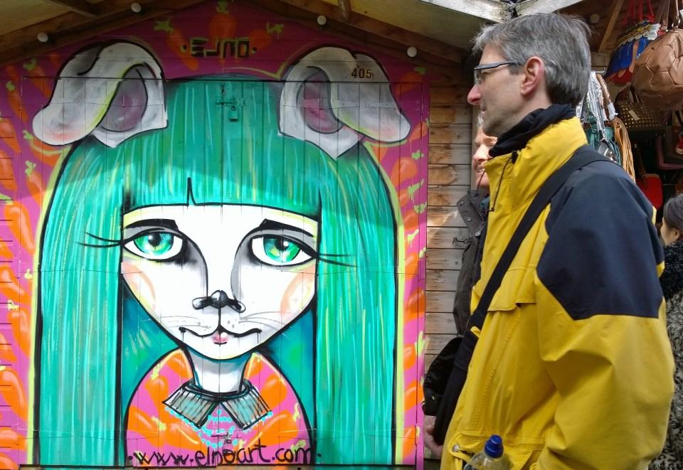 Spanish artist Elnos shed