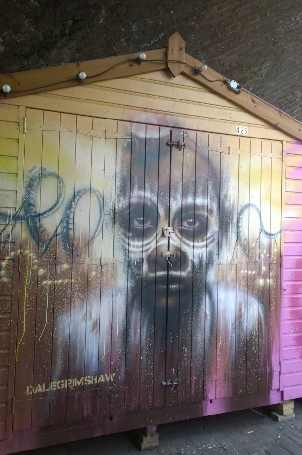 Typically dynamic shed from Dale Grimshaw