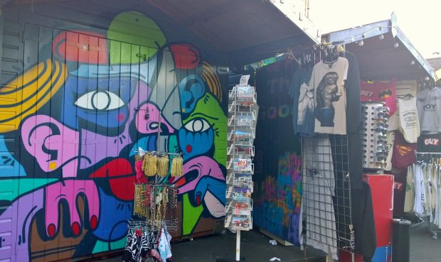 Hunto's recent shed in Camden Market