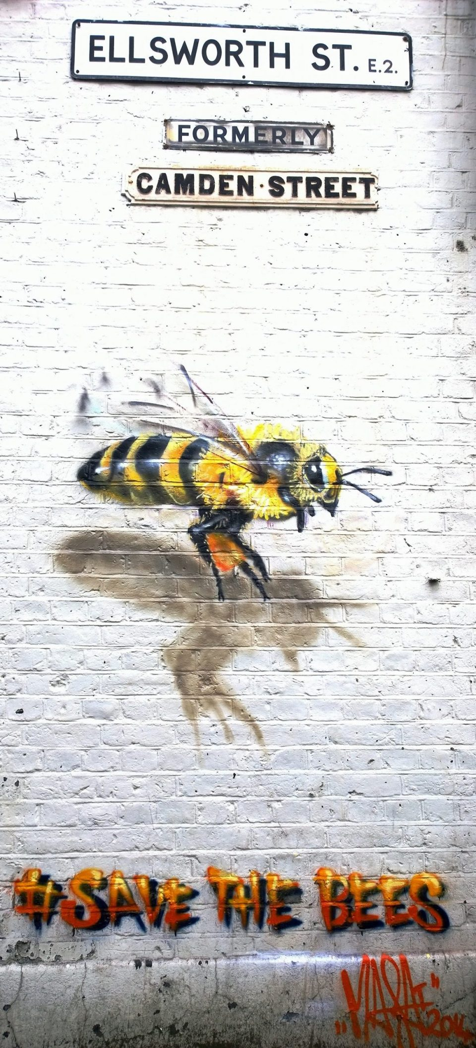 Flying Bee on Ellsworth Street