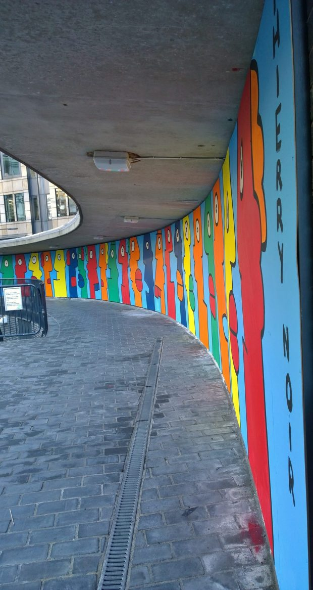 The Thierry Noir mural