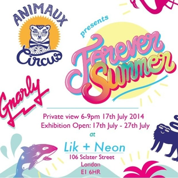 Forever Summer by Animaux Circus