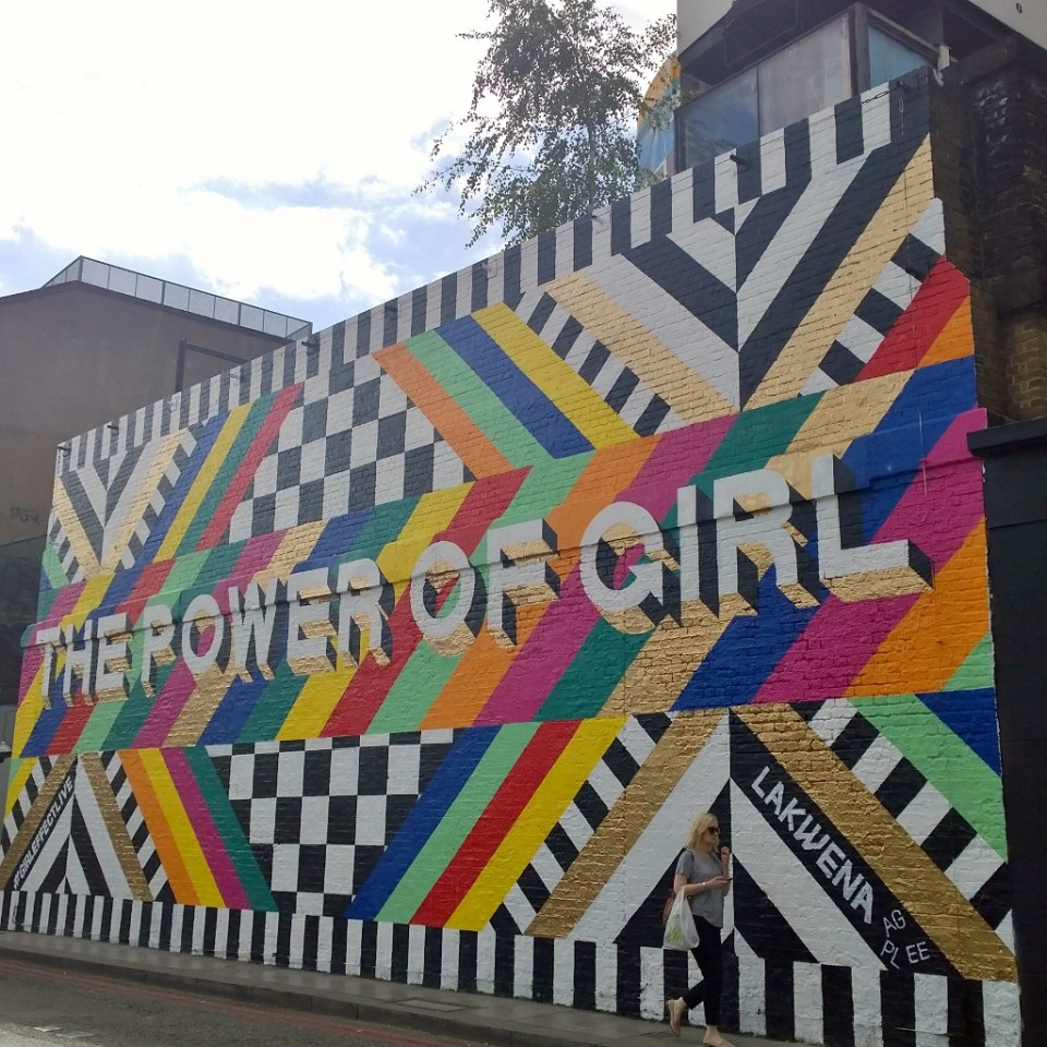 The Power of Girl on the Village Underground by Lakwena Maciver