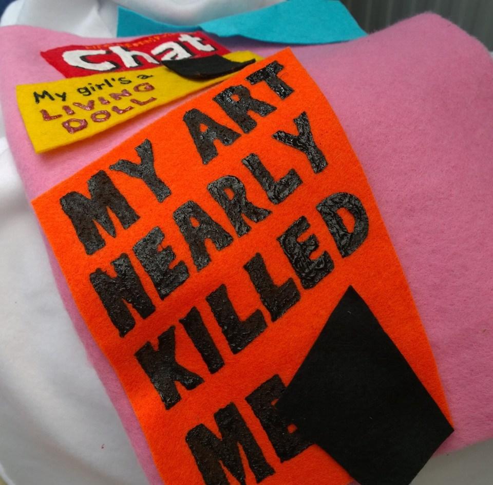 My Art nearly killed me