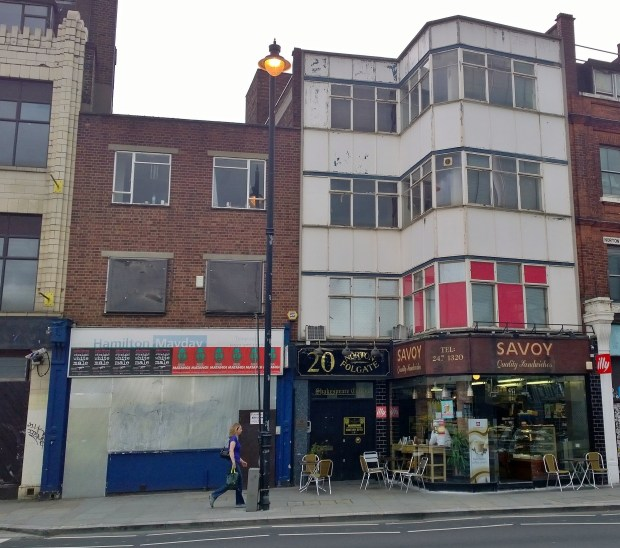 The Savoy Cafe, built in 1886 and on the site of a building which previously hosted the east london aquarium is up for demolition