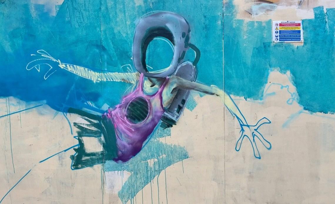 Ed Hicks mural on Whitby Street