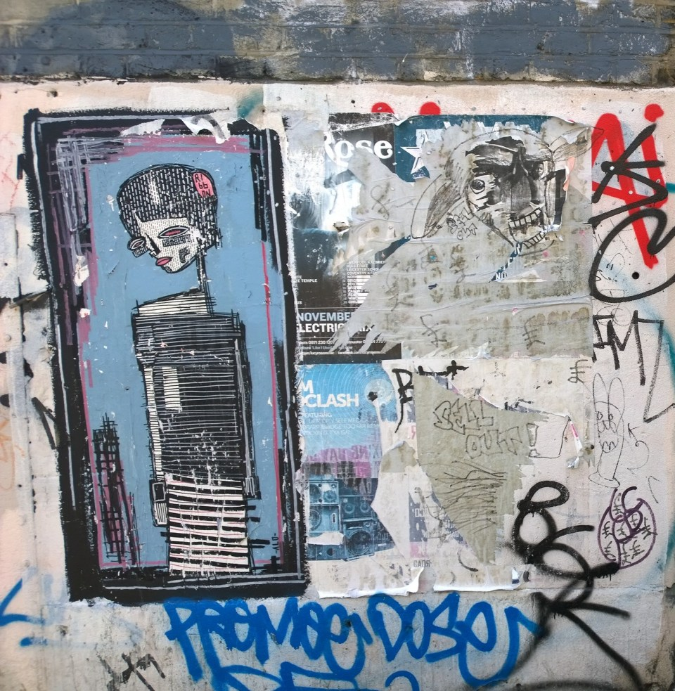 Alo art on Cambridge Heath Road