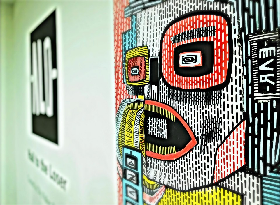 Alo was a hit with the Saatchi Gallery