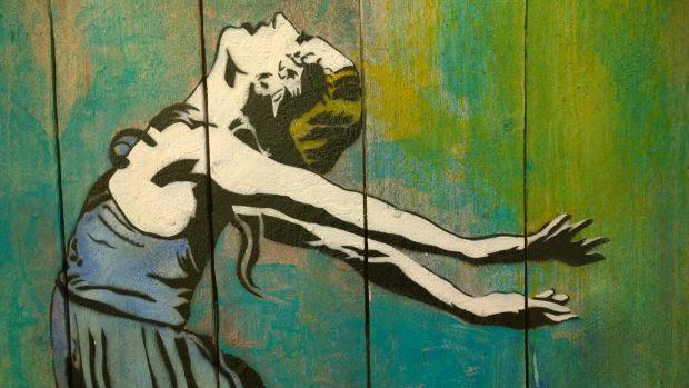 The godfather of stencil art Blek Le Rat