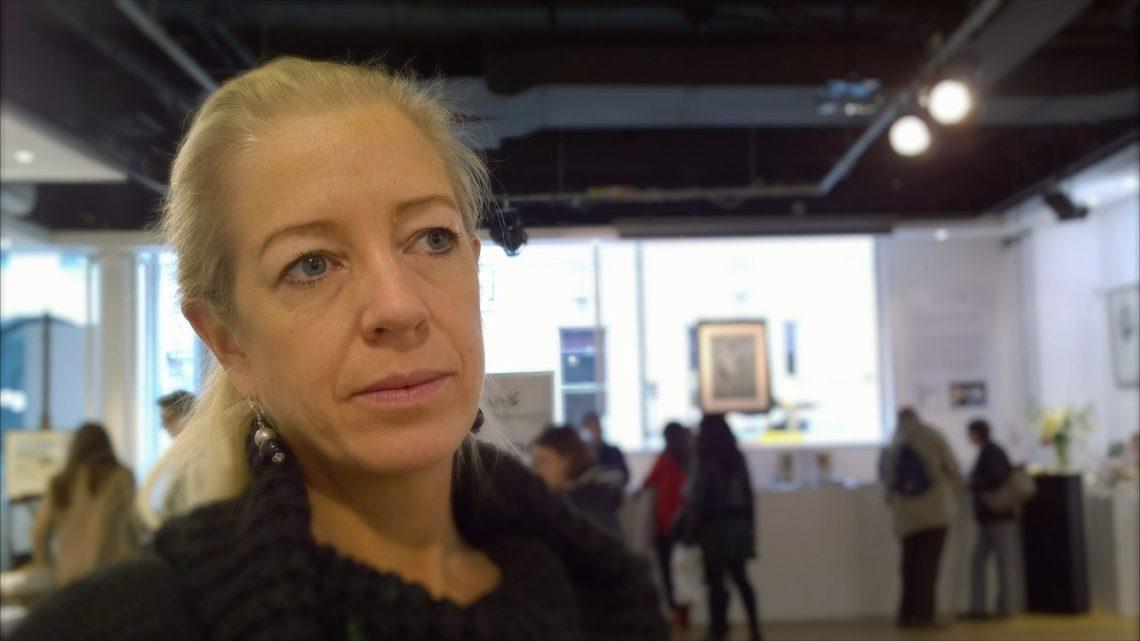 Arabella Dorman the war artist