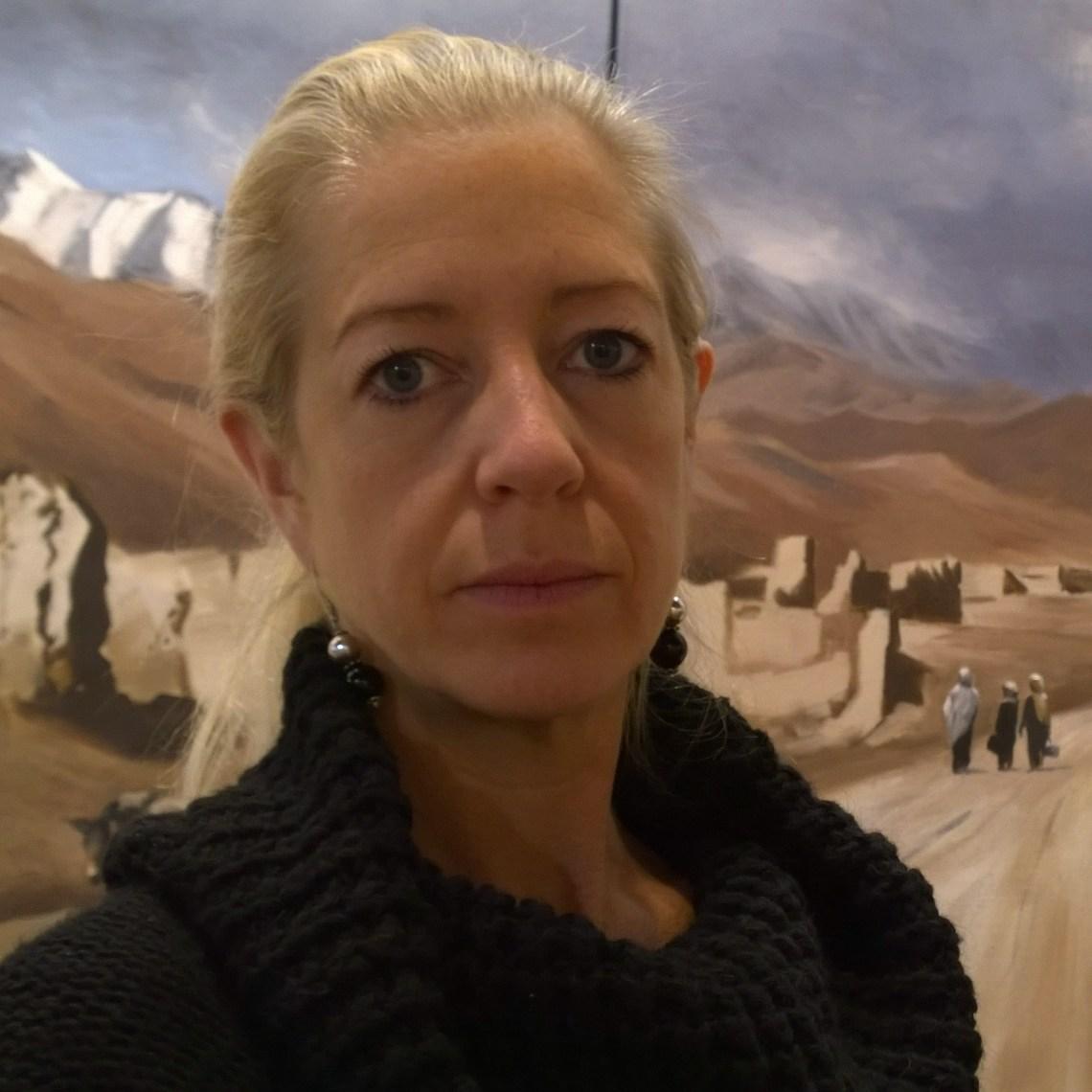 War artist Arabella Dorman