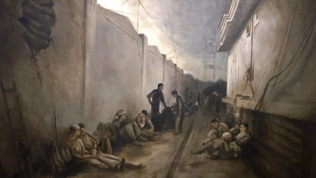 'Waiting for First Light - Dawn Patrol' by Arabella Dorman