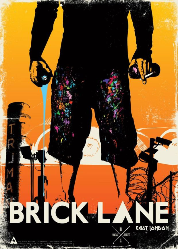 Brick Lane poster by Asteronyme taken from Pinterest