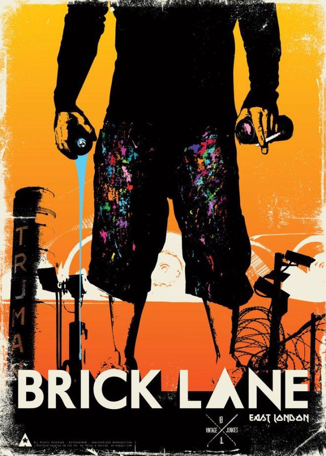 Brick Lane poster by Asteronyme taken from Pinterest