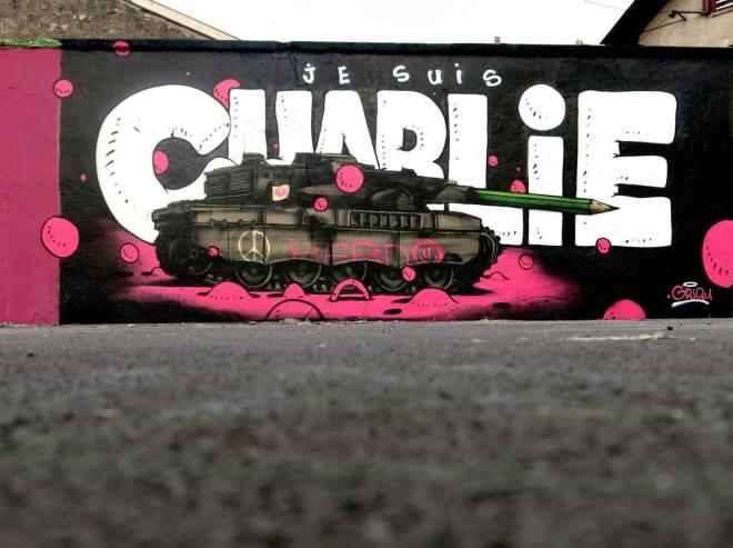 Je Suis Charlie Gris1 tribute