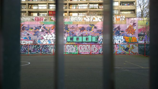 Tags on the walls