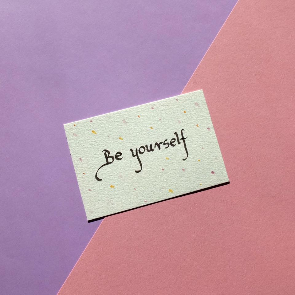 'Be Yourself' by Koukla Bazar