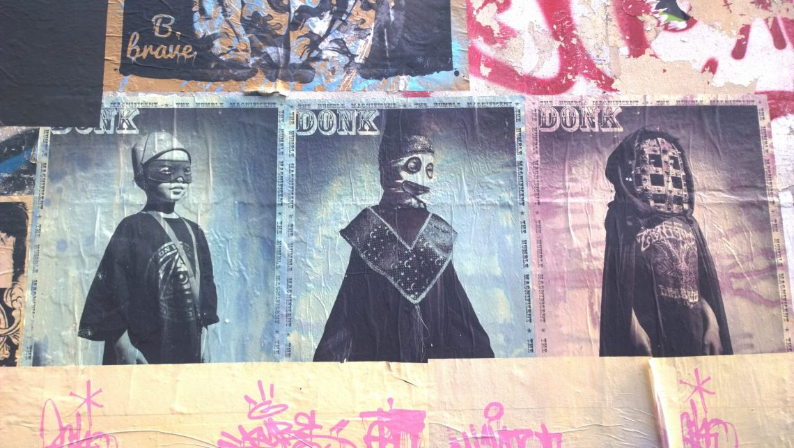 The Humble Magnificent, Ghost Wizard and Ghoul by street artist Donk
